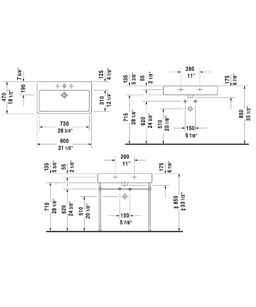 Technical drawing 6969 / 0454500060