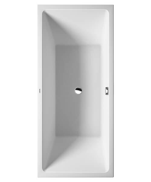Additional image of Duravit Vero Air Corner Bath With Seamless Acrylic Panel 1800 x 800mm