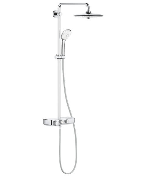 Grohe Euphoria Smartcontrol 260 Mono Shower System With Thermostat