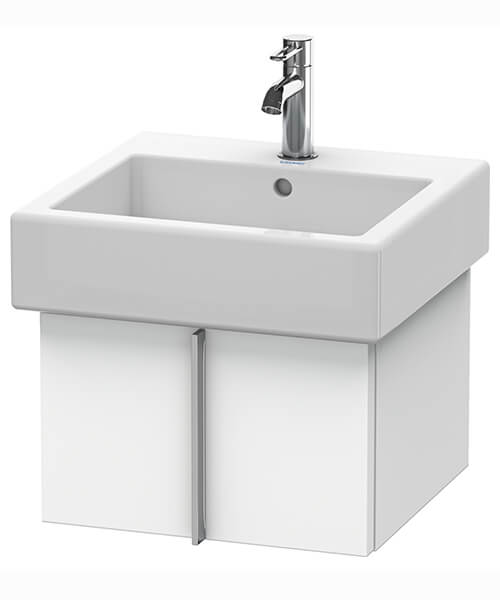 Duravit Vero Air 431mm Depth Wall Mounted Pull Out Compartment Vanity Unit And Basin