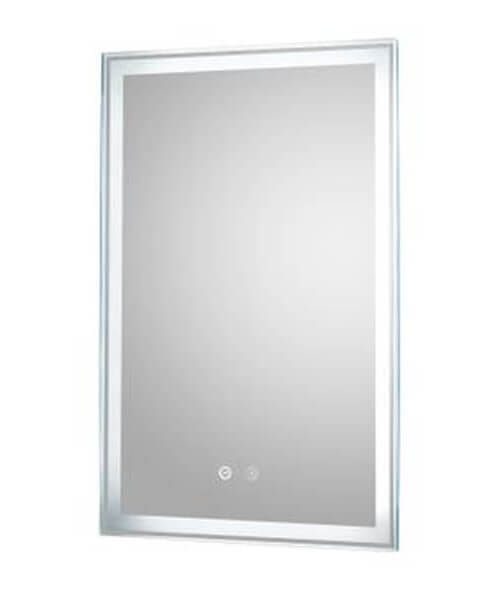 Hudson Reed Dazzle 500 x 700mm Touch Sensor LED Mirror With Demister Pad