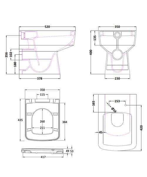 Technical drawing 53993 / CBL006