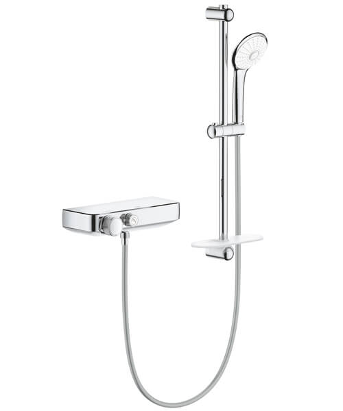 Grohe Grotherm Smart Control Thermostatic Shower Mixer 1-2 inch With Shower Set