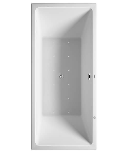 Duravit Vero Air Rectangle Whirltub With Two Backrest Slope