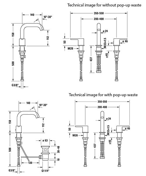 Technical drawing 34890 / C11060003010