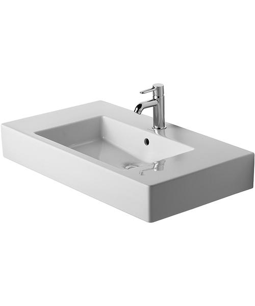 Duravit Vero Furniture Washbasin White With Overflow