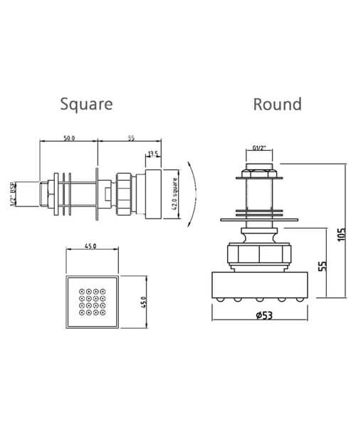 Technical drawing 4276 / A354