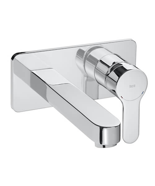 Roca L20 Single-Lever Wall Mounted Basin Mixer Tap