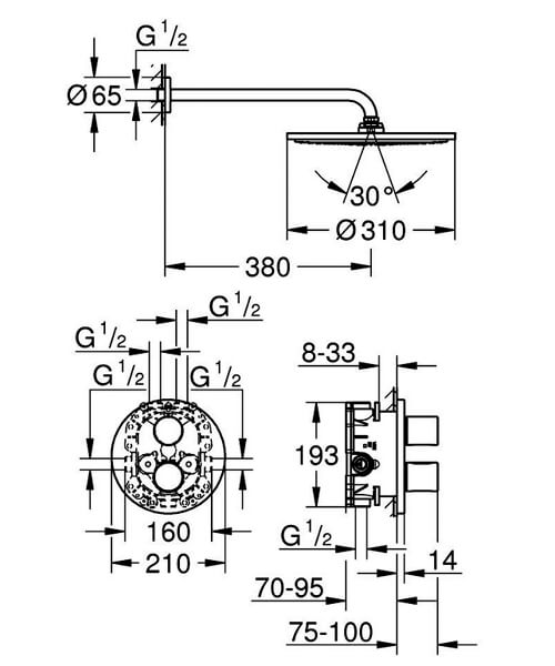 Technical drawing 55475 / 34571000