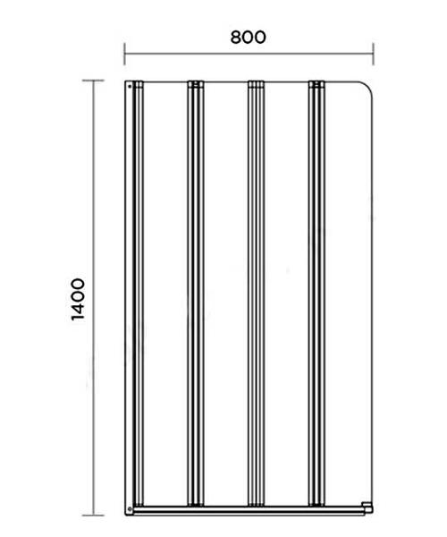 Technical drawing 60318 / AP9357LS