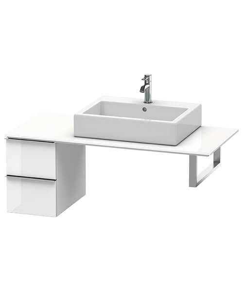 Duravit Happy D2 2 Drawers Floor Cabinet For Console