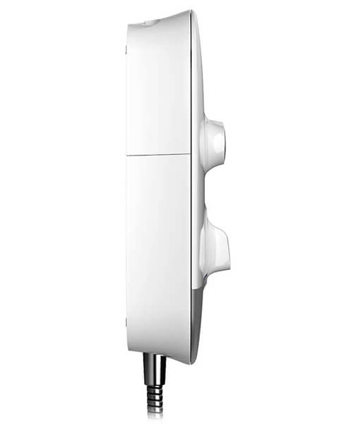 Additional image of Mira Meta White-Chrome Electric Shower