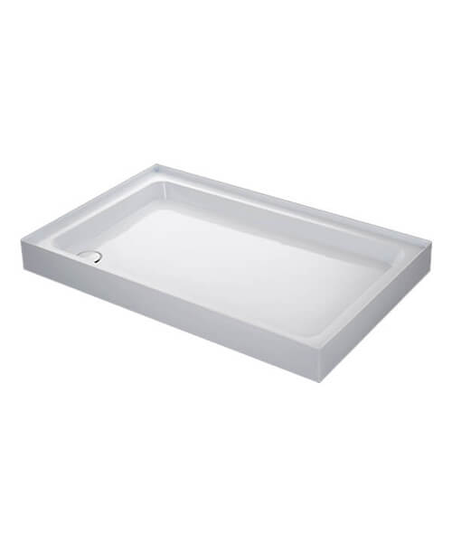 Mira Flight 4 Upstand Rectangle Shower Tray With Waste