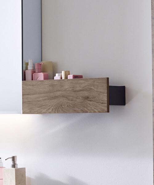 Alternate image of Geberit Smyle Square 450 x 143mm Wall Shelf