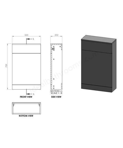Technical drawing 41821 / EF605MB