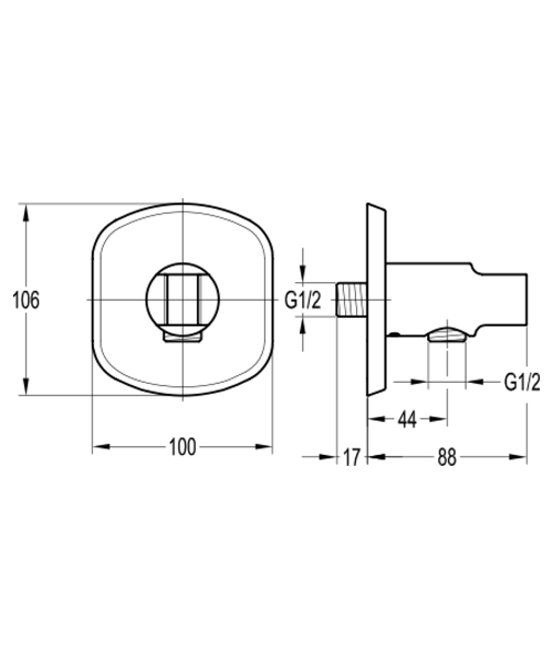 Technical drawing 60343 / FNHSS