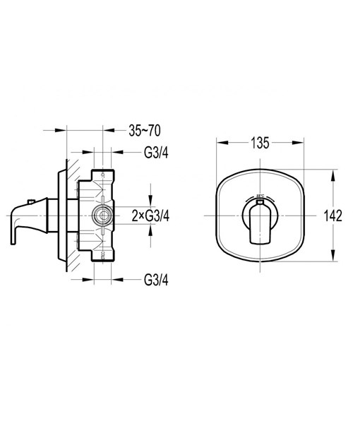 Technical drawing 60342 / FNT111