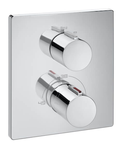 Roca T-2000 Built-In Thermostatic Bath Shower Mixer Valve