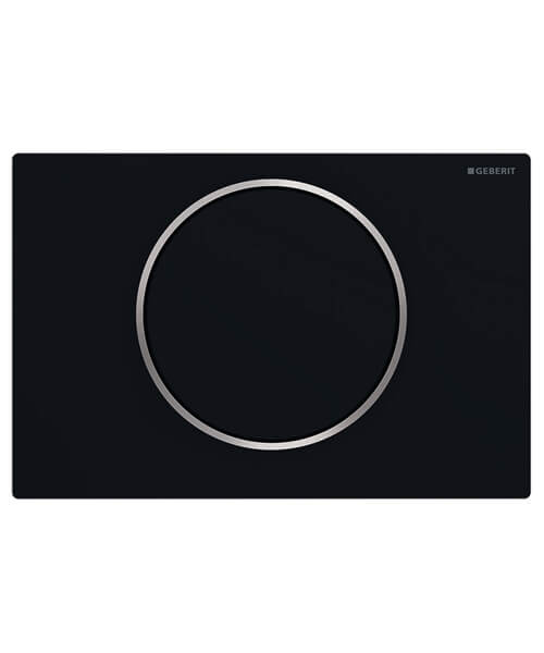 Additional image of Geberit Sigma10 Single Flush Plate Stainless Steel