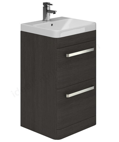 Alternate image of Essential Vermont 500mm 2 Drawer Vanity Unit And Basin