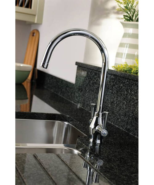 Additional image of Abode Astral Monobloc Kitchen Mixer Tap