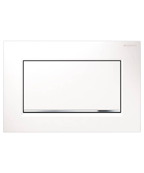 Geberit Sigma30 Screwable Single Flush Plate 246 x 164mm