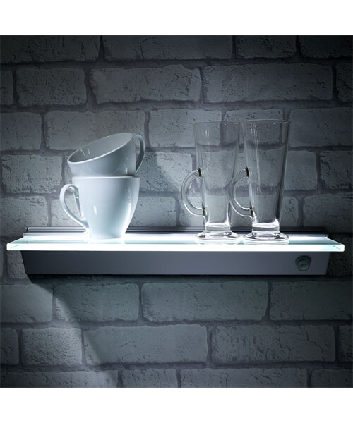 Additional image of Sensio Florence IP44 LED Glass Shelf Light