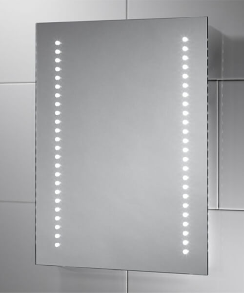 Sensio Isla 390 x 500mm Battery Powered LED Mirror