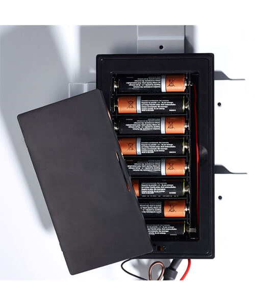 Additional image of Sensio Isla Battery Powered LED Mirror - 390 x 500mm