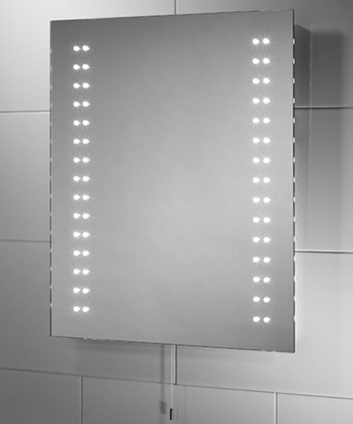 Sensio Tula Slimline 390 x 500mm Diode LED Mirror