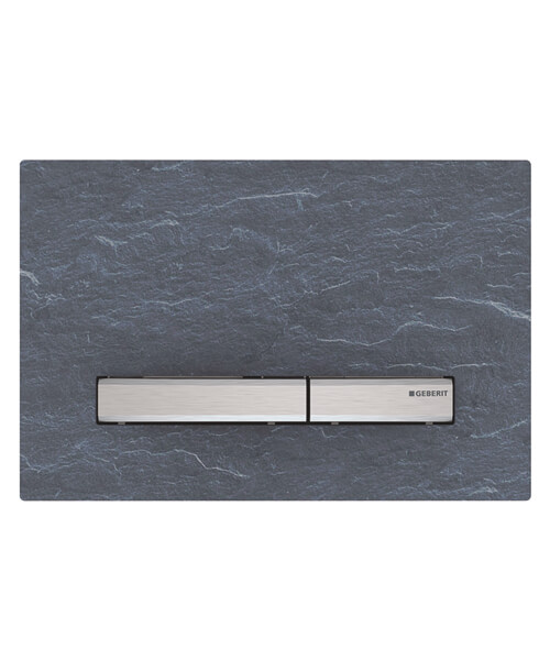 Geberit Sigma50 Dual Flush Plate Die-Cast Zinc And Slate