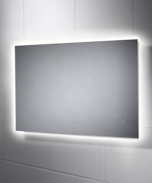 Sensio Eden 900mm Backlit LED Mirror With Touch Switch