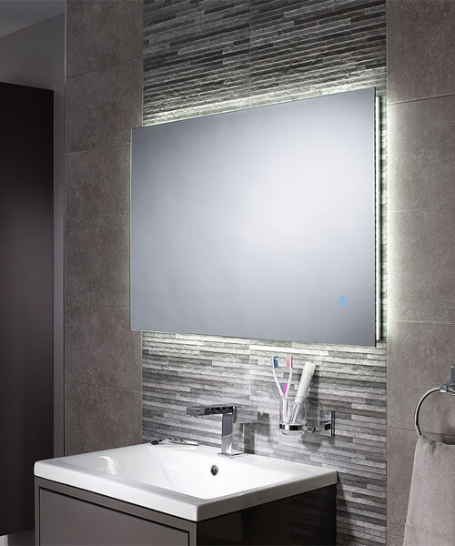 Additional image of Sensio Eden 900mm Backlit LED Mirror With Touch Switch