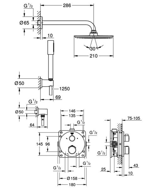 Technical drawing 55481 / 34732000