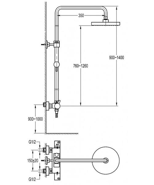 Technical drawing 60374 / LVTSKIT-19