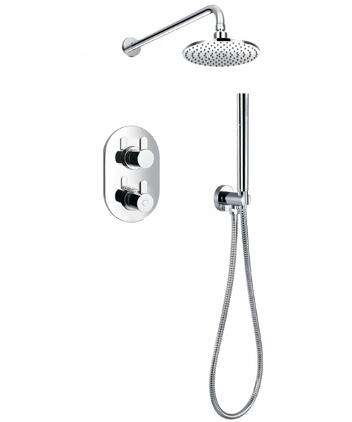 Flova Smart Thermostatic 2 Way Shower Pack With Shower Set