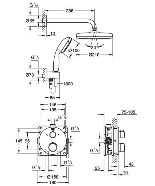 Technical drawing 55484 / 34727000