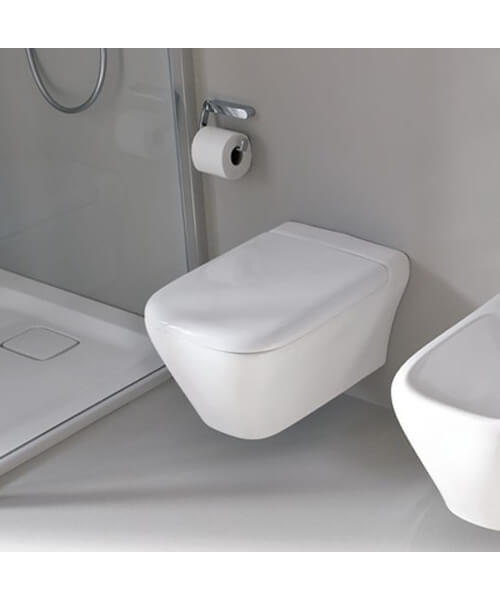 Additional image of Geberit MyDay 360 x 540mm Wall-Hung Rimeless WC Pan