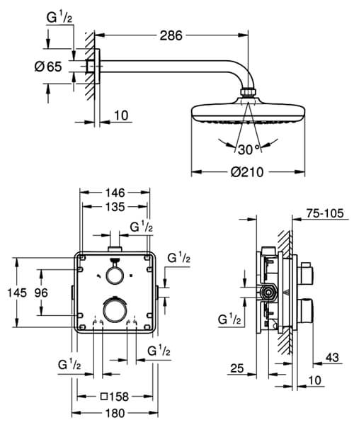 Technical drawing 55485 / 34728000