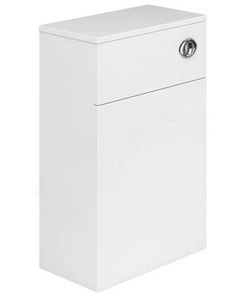 Essential Nevada Gloss White WC Unit 500 x 800mm