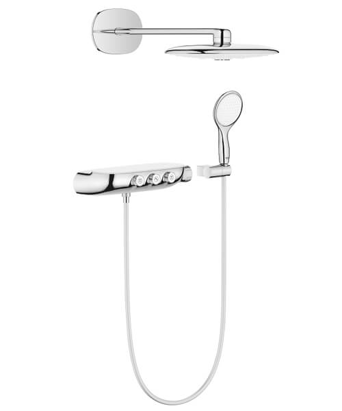 Grohe Rainshower System Smartcontrol 360 Duo Combi Shower System With Thermostat
