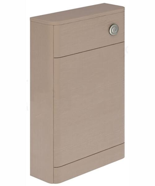 Alternate image of Essential Vermont 550 x 800mm Dark Grey WC Unit