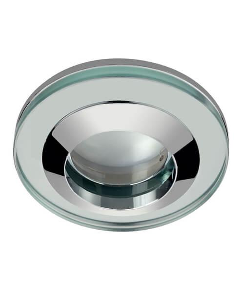 Sensio Acorn 240V Round Glass Shower Light Fitting
