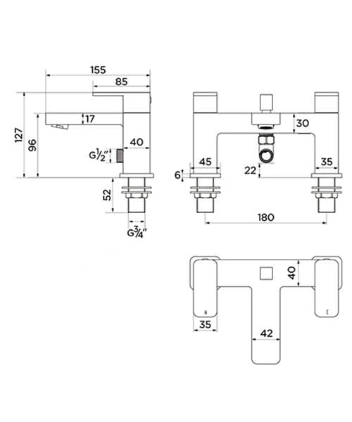Technical drawing 41809 / ET9138