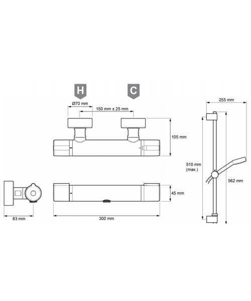 Technical drawing 64038 / 2.1878.001