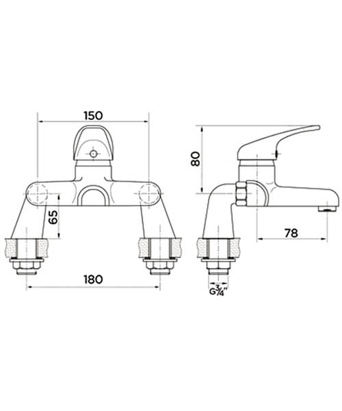 Technical drawing 41806 / ET9115