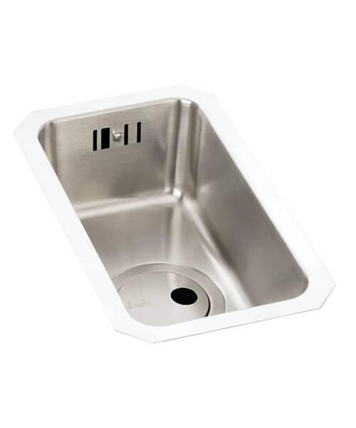 Abode Matrix R25 0.5 Bowl Stainless Steel Kitchen Sink