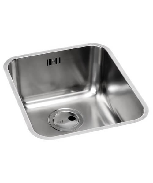 Abode Matrix R50 1.0 Bowl Stainless Steel Kitchen Sink