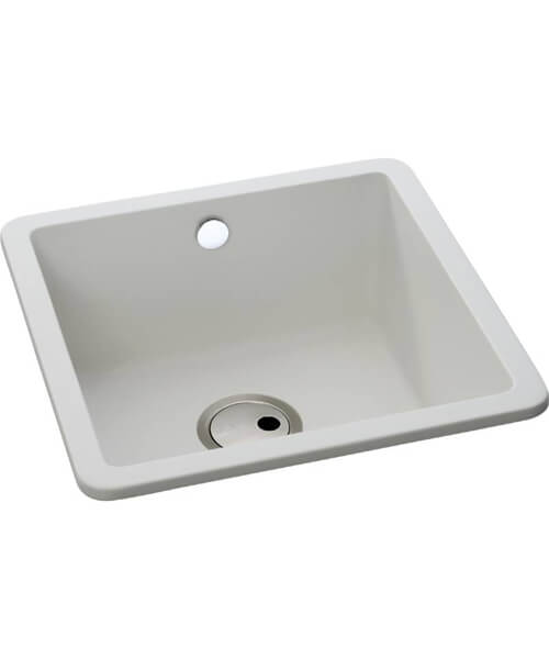 Abode Matrix SQ GR15 1.0 Bowl Kitchen Sink