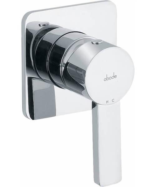 Abode Modo Wall Mounted Bath Mixer Control Chrome